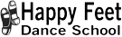 Happy Feet Dance School Logo